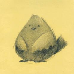 small series - birdie by porcelanita