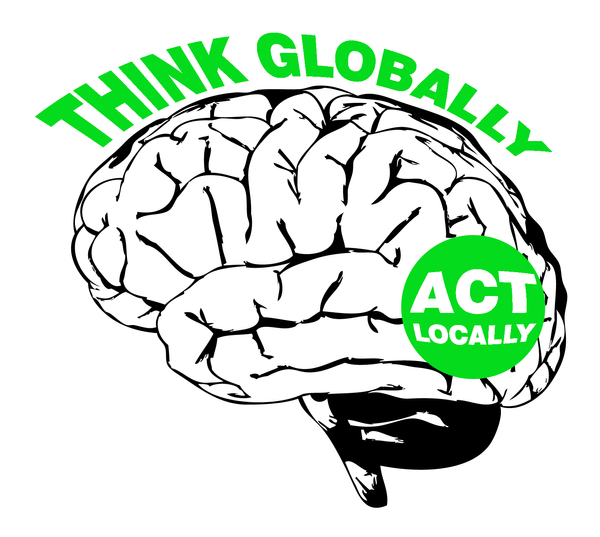 thinking globally and acting locally essay
