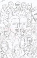 Heroes Season 2 Pencils by Tonioart