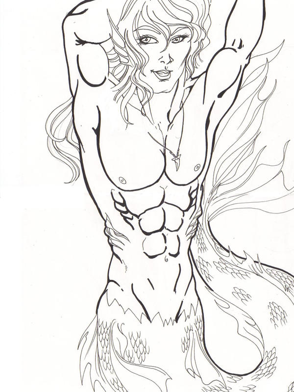 Merman Coloring Pages Sketch Coloring Page Merman Coloring Pages