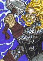 Norse God of Awesomeness by Tonioart