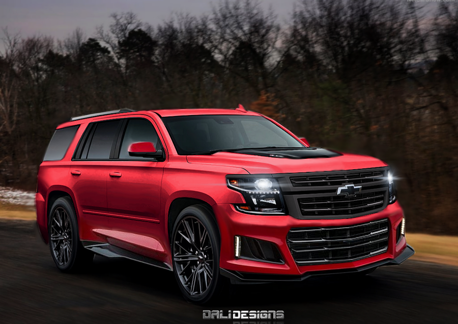 2019 Chevrolet Tahoe ZL71 by dly00 on DeviantArt