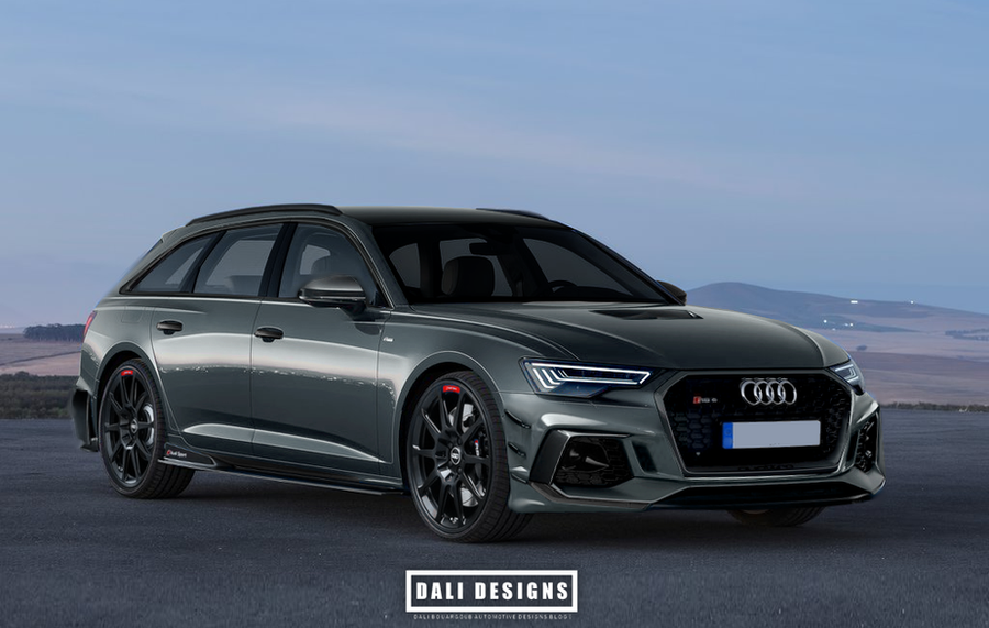 2019 audi rs6 avant performance competition by dly00 on. Black Bedroom Furniture Sets. Home Design Ideas