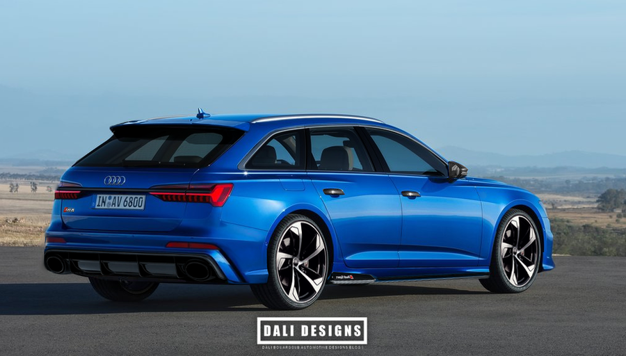 2019 audi rs6 avant aliminium pack rear by dly00 on. Black Bedroom Furniture Sets. Home Design Ideas