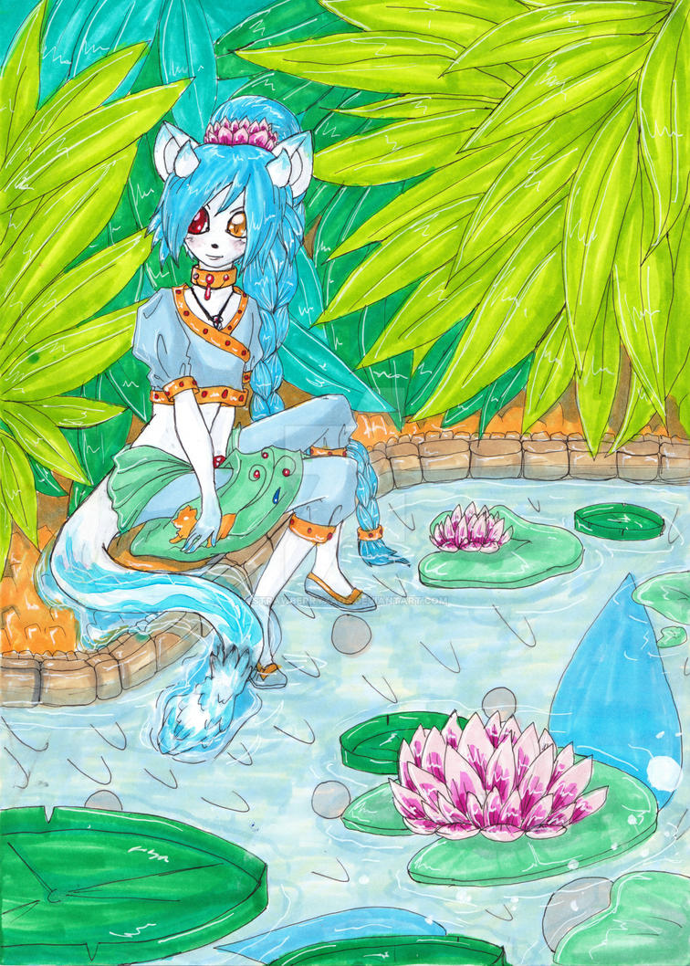 Xaos on water by StrawberryXaos
