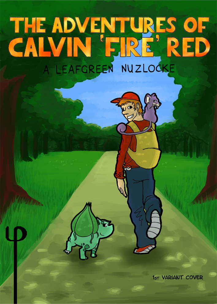 The Adventures of Calvin 'Fire' Red - Cover 1