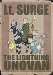 Lt. Surge The Lightning Unovan poster
