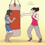 Korrasami Week 2016 - Day 7: Gym Buddies