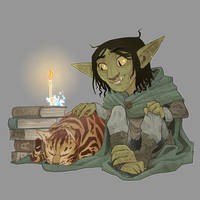 Nott - Critical Role by Phi8