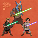 May the Fourth be with you, young Skywalkers