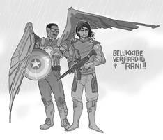 FalconCap and Bucky