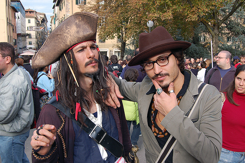 Jack Sparrow and Johnny Depp by LarsVanDrake
