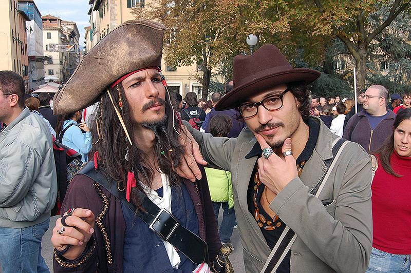 Jack Sparrow and Johnny Depp by LarsVanDrake