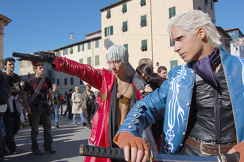 Devil May Cry at Lucca 2007 by LarsVanDrake