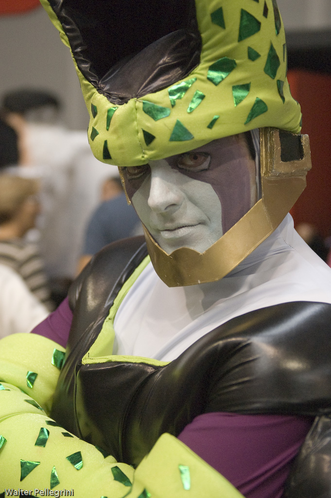 Romics 2008 - 26 DBZ by LarsVanDrake