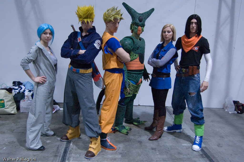 Cartoomics 2009: DBZ 2 by LarsVanDrake