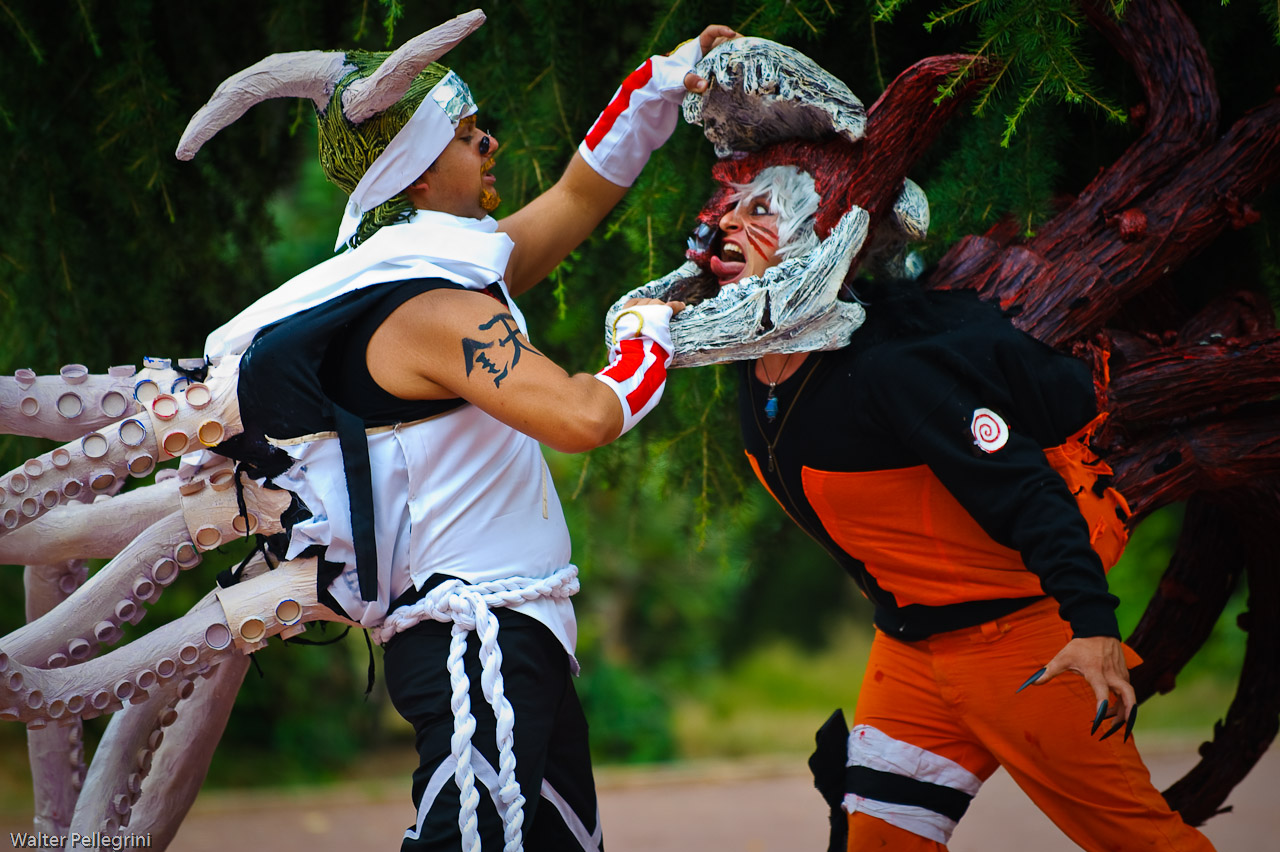 Killer bee vs naruto - photo#2