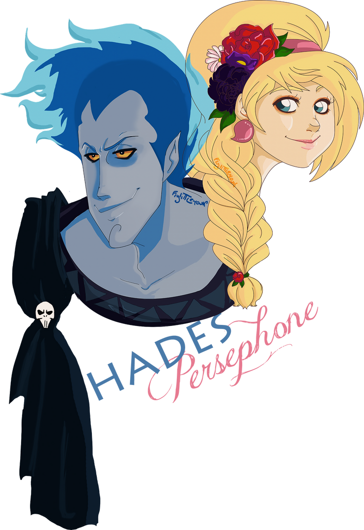 Hades and Persephone by Flylittlemoon
