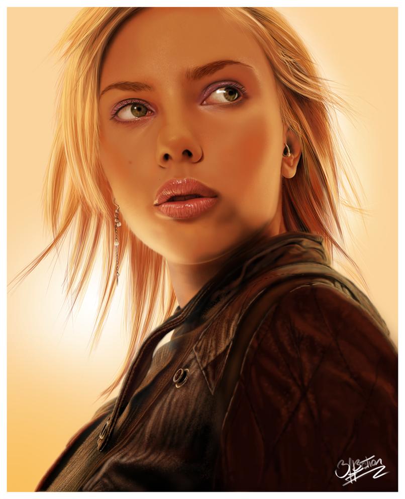 Scarlett Johansson by 3ff3ction