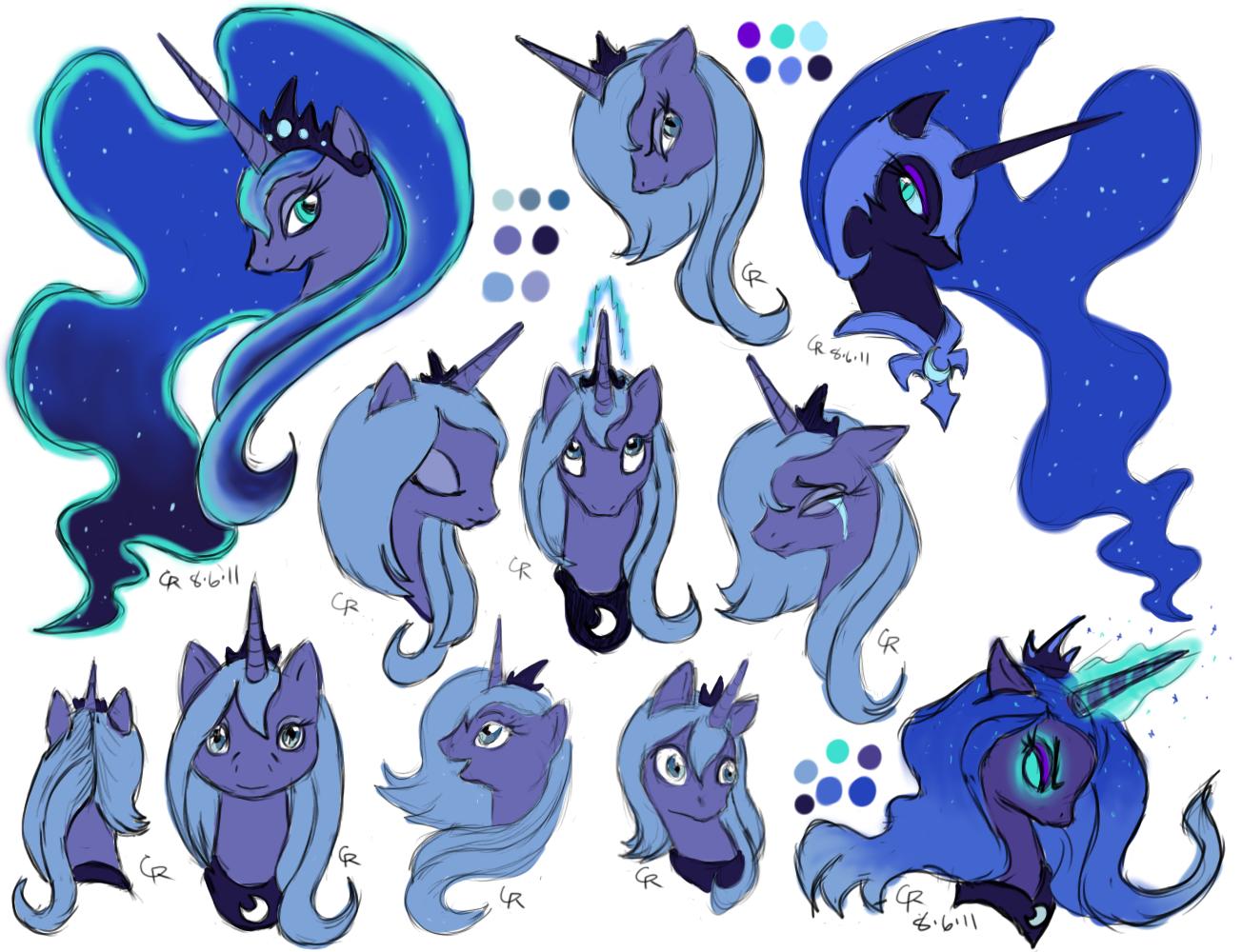 MLPFiM  Princess Luna by LuckyNeko13 on DeviantArt