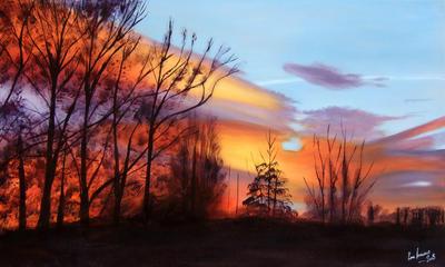 Beyond the Blue Skies by karlandrews
