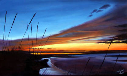 Horizon Ablaze by karlandrews