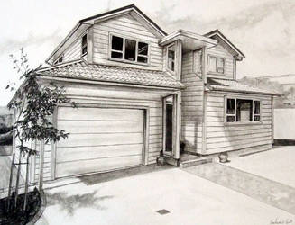 A House in Pencil by karlandrews