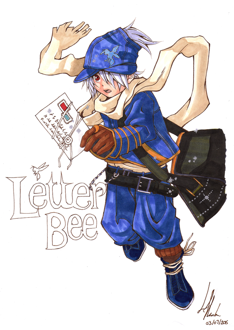 [Fanart] Letter Bee - Lag Seeing by kurisart