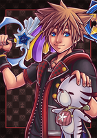 [FANART] Kingdom Hearts III : Sora and Chirithy