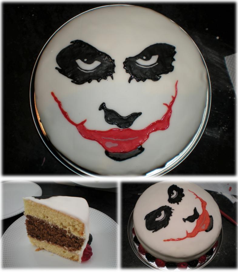 Joker Cake by betty002 on DeviantArt Joker Smile Png