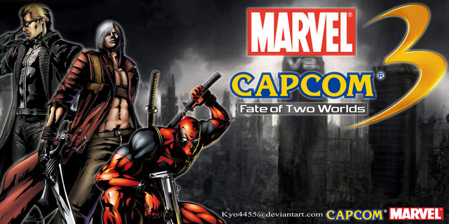 Marvel Vs Capcom 3 Wallpaper by kyo4455