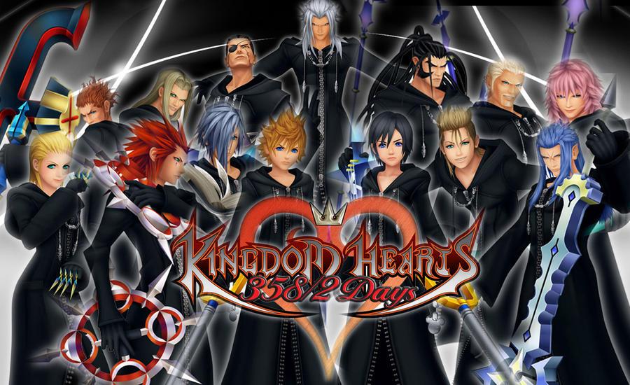 Kingdom Hearts-Organization XIII: OC Set 2 by HenshinDaisuke ...