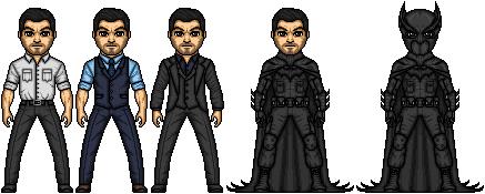 Bruce Wayne/Batman by Rufusade