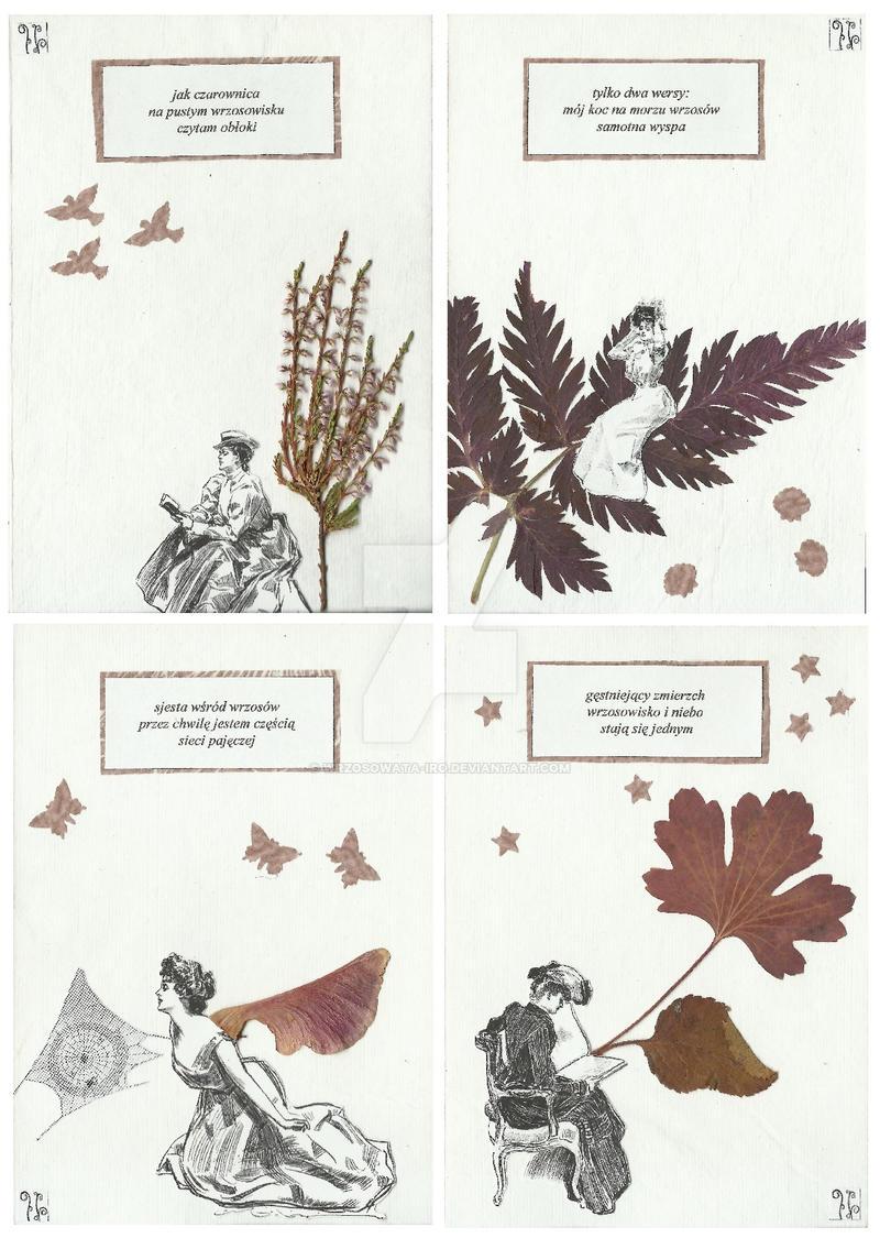 Double Diptych 'Heath' by wrzosowata-Iro