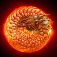 Sun Dragon by MssSyndrom