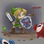 Link vs. Octorok