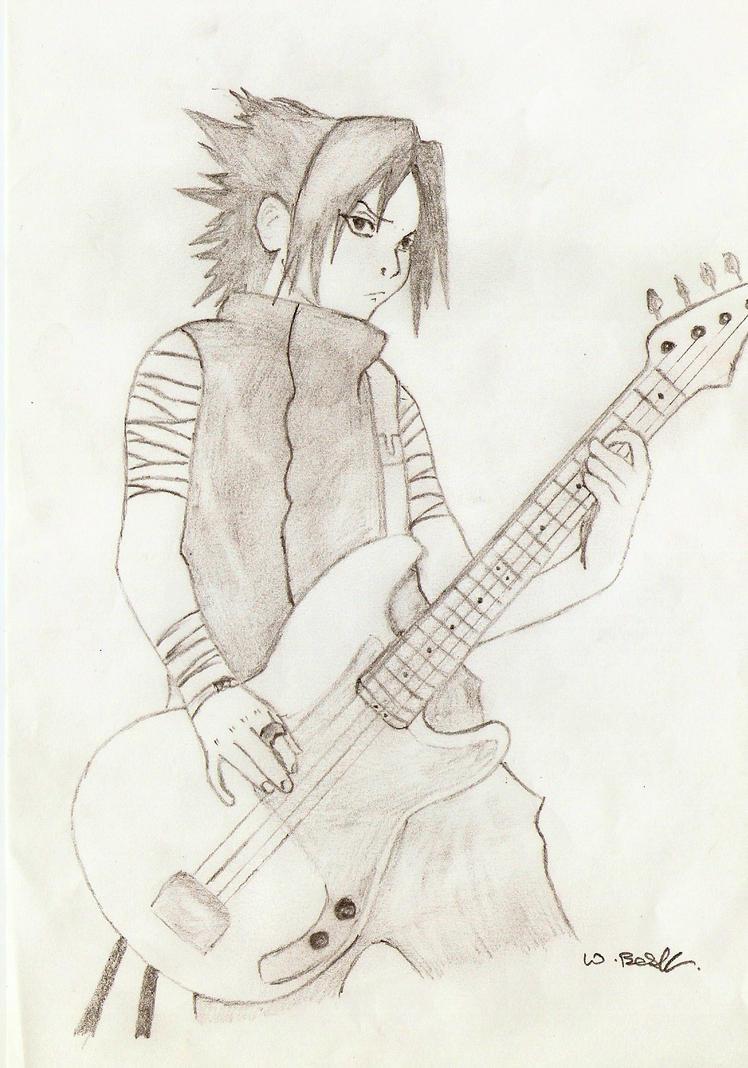 Rockstar Sasuke V2 by guineapiggin