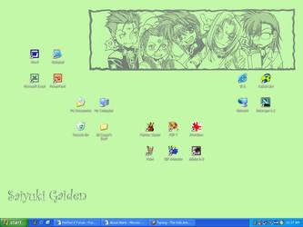 Fear the Saiyuki Desktop by fantasyland