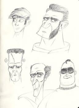 Sketches - ToonBoxStudio B