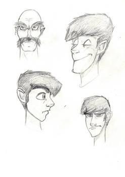 Sketches - ToonBoxStudio C
