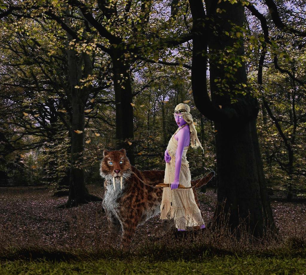 Huntress by Shady-Lady90