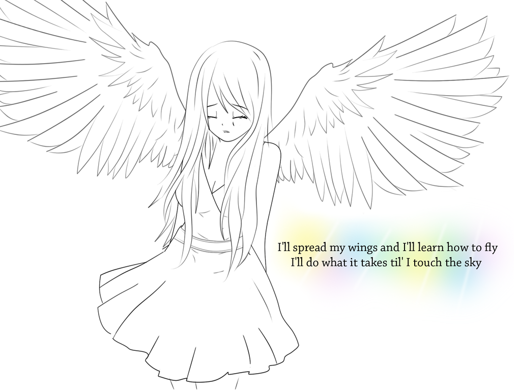 I'll spread my wings and I'll learn how to ... - squashley10