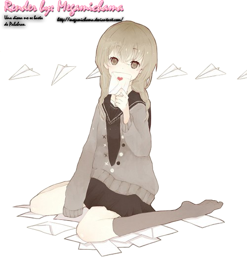Letters Love - Kawaii render by Megamichama