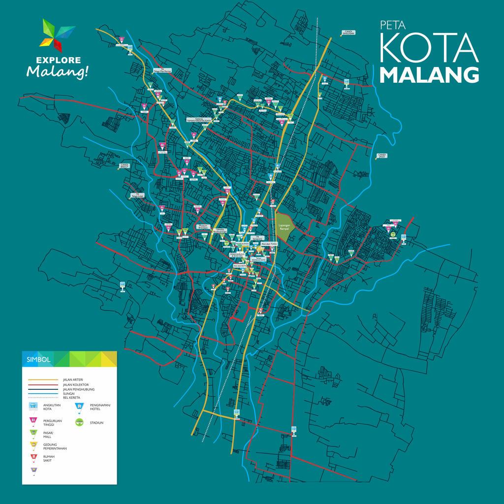 Peta Kota Malang By Mmisig2 On Deviantart