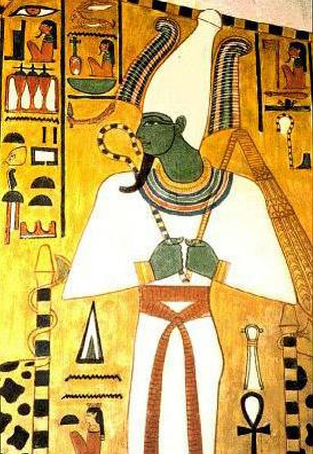 Osiris,Egyptian god of the underworld by altair9844 on ...