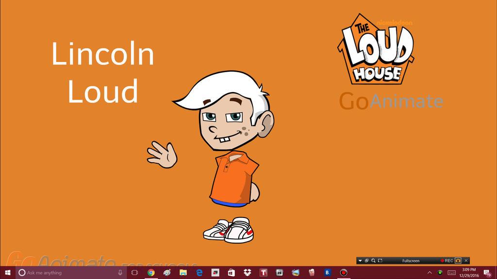 Lincoln Loud Goanimate Version By Oddsqaudfan13 On Deviantart
