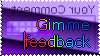 Stamp for GimmeFeedback by GimmeFeedback