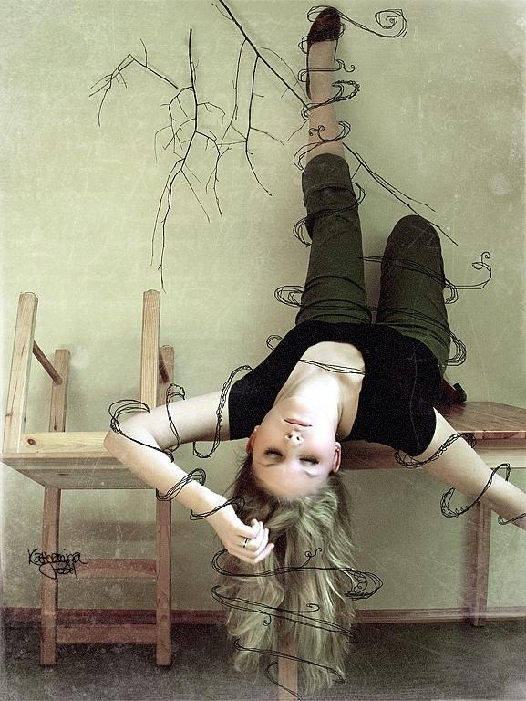 Upside Down by Pinkmango77