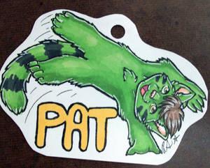 AC- Chibi badge- Pat