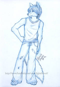 Sketch- Mahican- 6-28-10